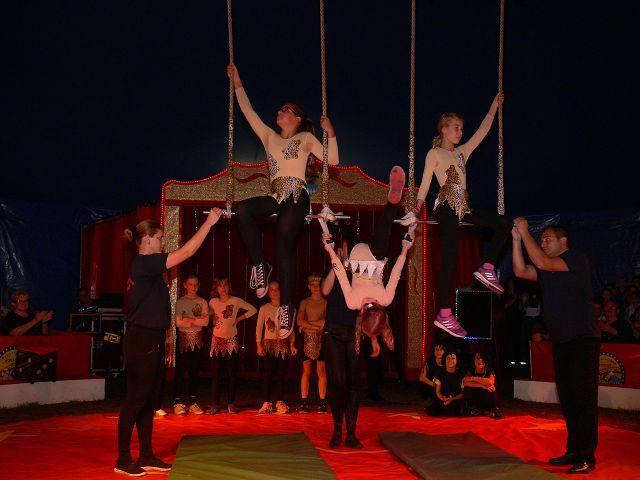 Auch unser großes Zirkusprojekt war ein riesen Erfolg und bereitete den Darstellern genauso viel Spaß wie den Zuschauern.