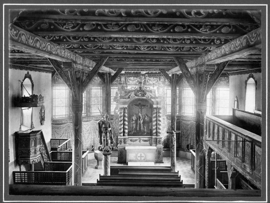 St. Georgskirche.innen.1910