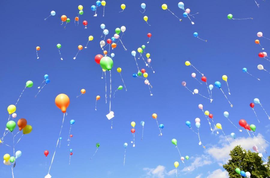 Dorfwettbewerb Ballon