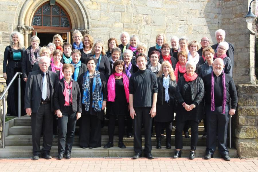 Chorfreizeit 2017 Kirche Bergkirchen
