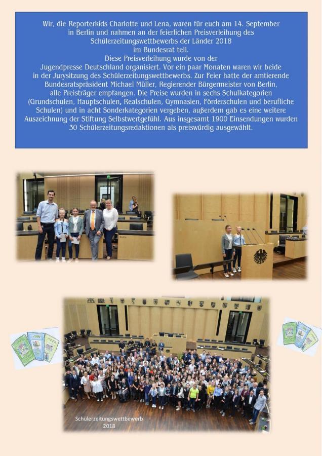 Schülerzeitungswettbewerb 2018