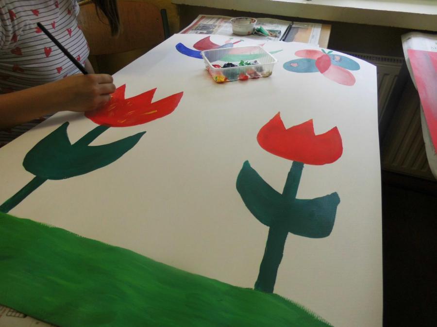 Deko malen mit Acrylfarben Bild 1