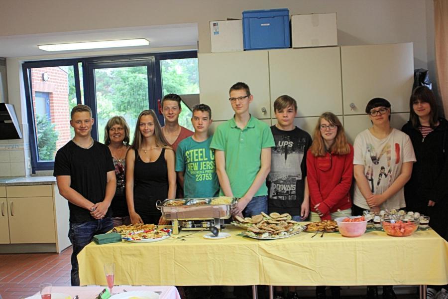 Schüler kochen für Schüler 1