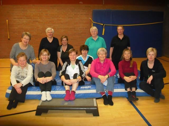 Gymnastikgruppe