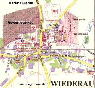 Gewerbegebiet Wiederau