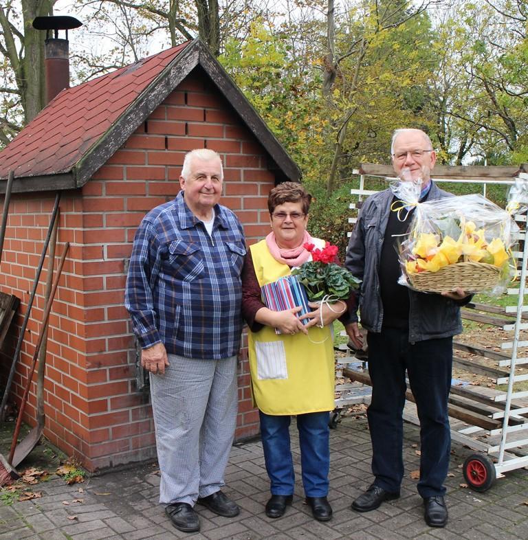 Verabschiedung von Ingrid und Siegmar Kaethner