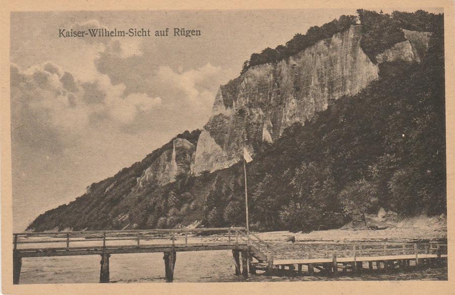 Kaiser-Wilhelm-Sicht auf Rügen