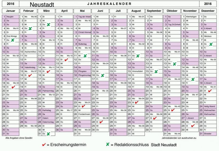 Jahresplan 2016-2