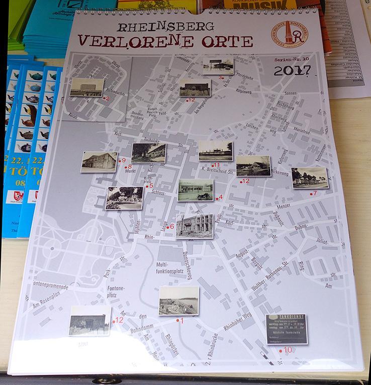 Kalender Stadtgeschichte Rheinsberg