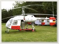 Kamow Ka-26 mit Düngemittelbehälter