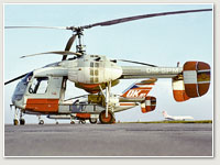 Kamow Ka-26 ohne Kabinenmodul