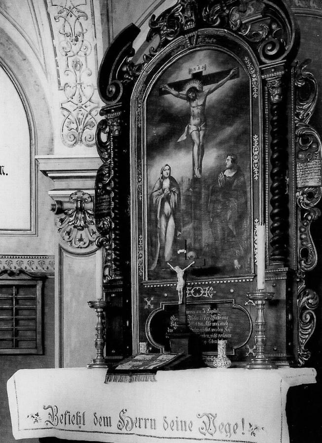 Das Altarbild der Kapelle