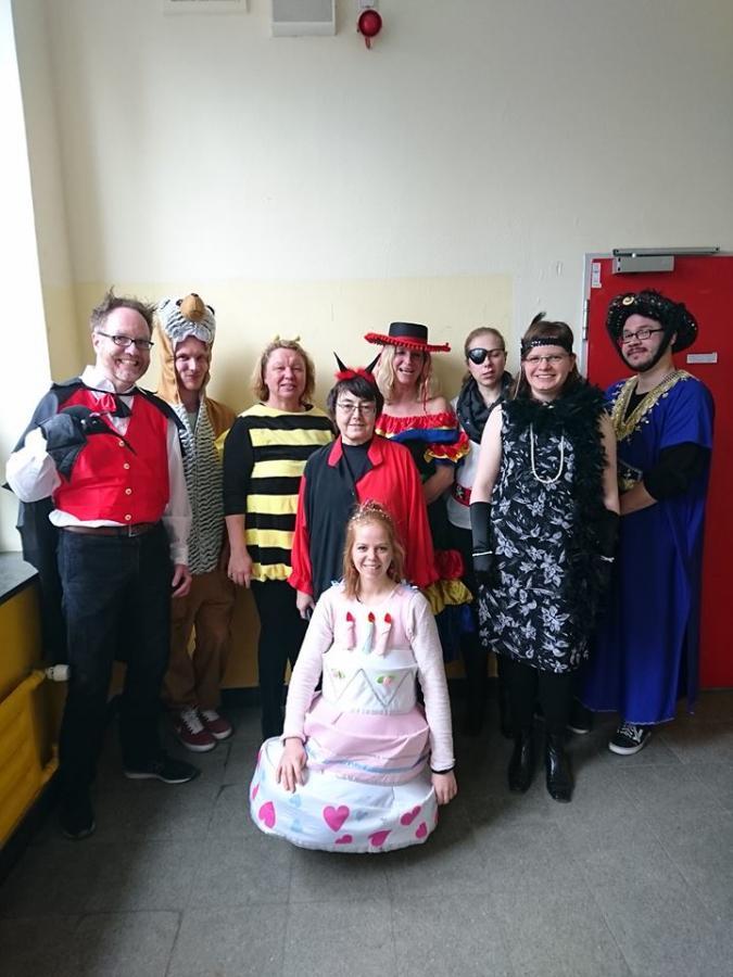 Kollegium an Karneval 2019