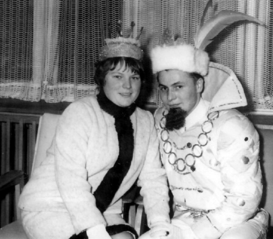 Prinzenpaar Ilse und Uwe Schmiedeberg