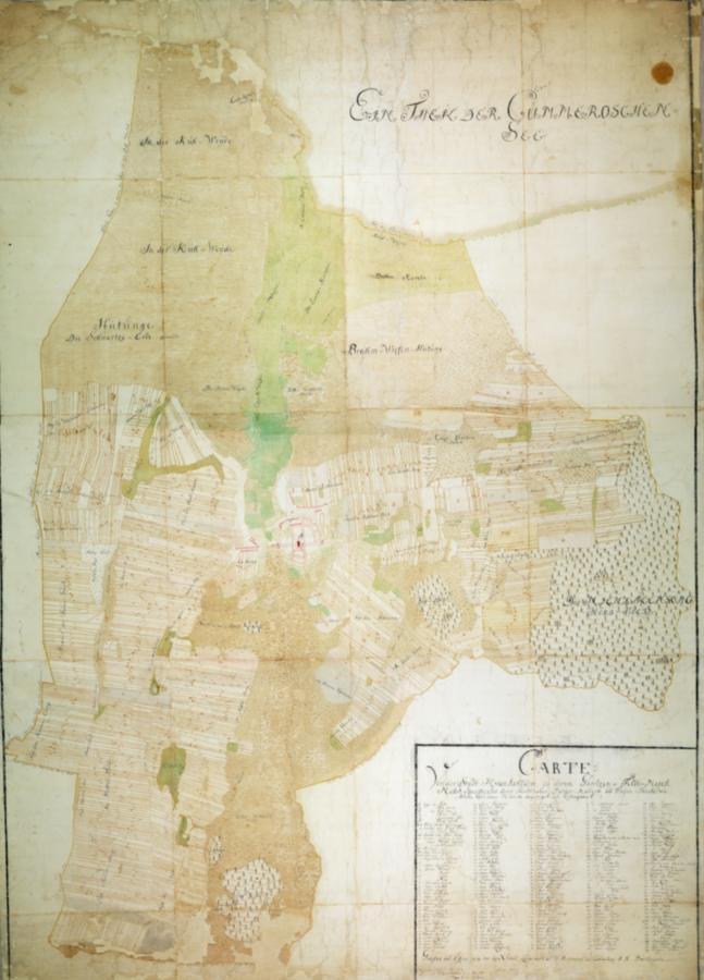 Die Flurkarte von 1727