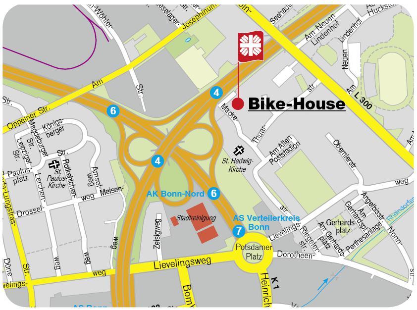 Karte Bike- House