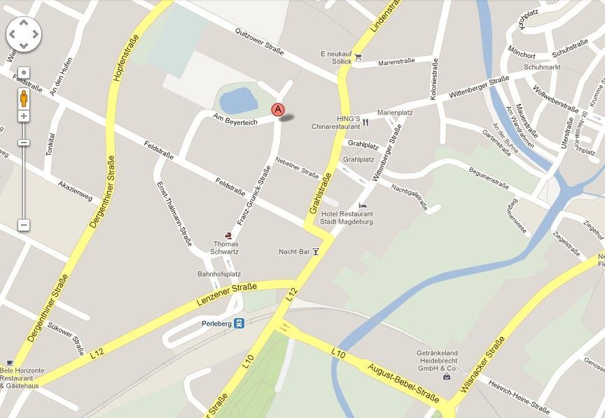 Map Franz-Grunick-Straße 1a