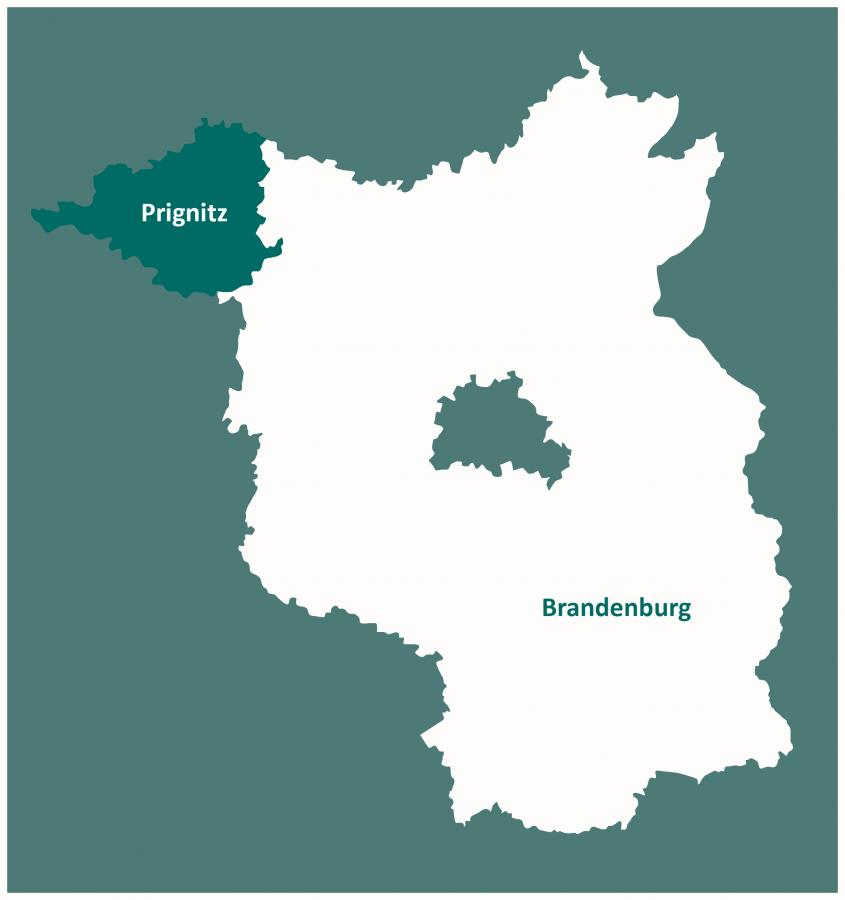 Karte Prignitz