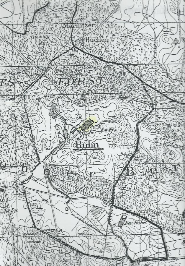Karte Ruhn