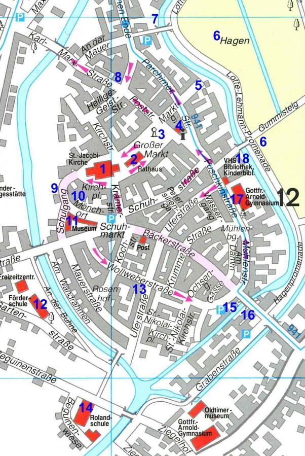 Karte Stadtrundgang 30.05.2017
