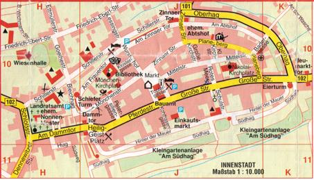 Kartenbild Innenstadt