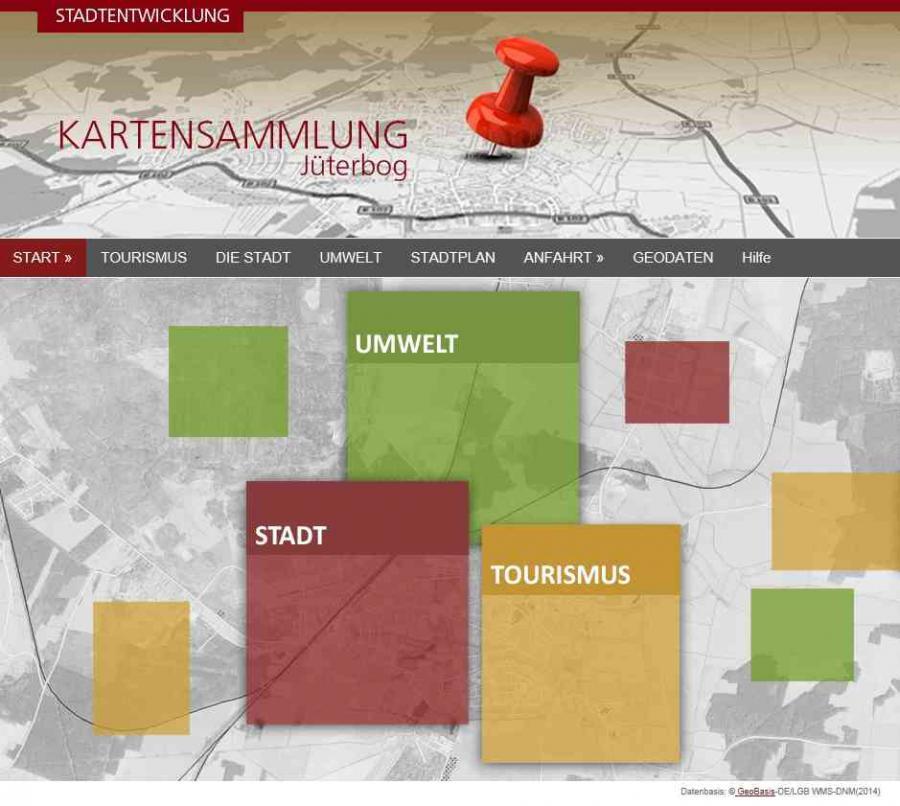 Startseite Kartensammlung Jüterbog