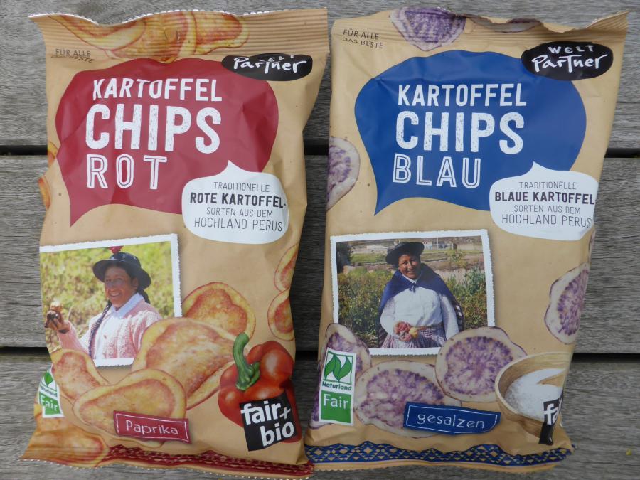 Kartoffelchips Peru