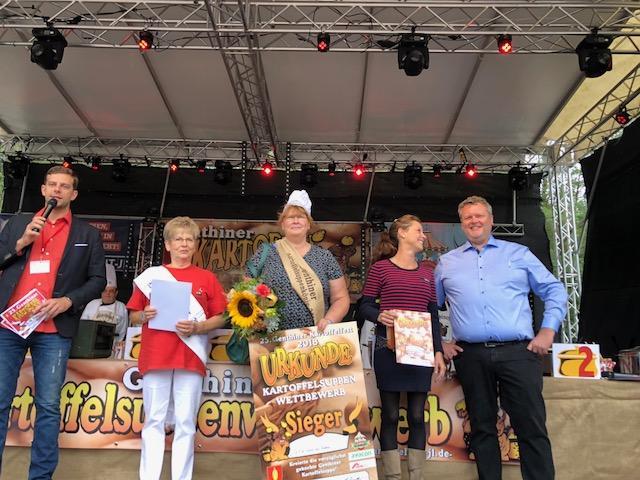 Kartoffelsuppenkönigin Karina Wolf QSG Genthin
