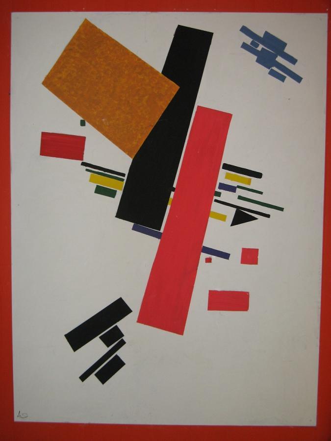 Kasimir Makewitsch, Dynamischer Suprematismus
