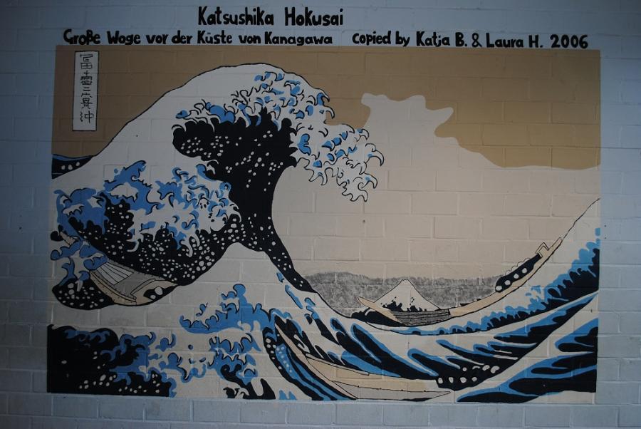Katsushika Hohnsai, Die große Woge vor Kanagawa
