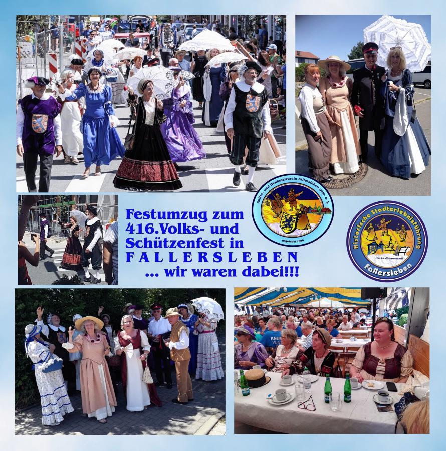 Volks- und Schützenfest - Umzug 2019