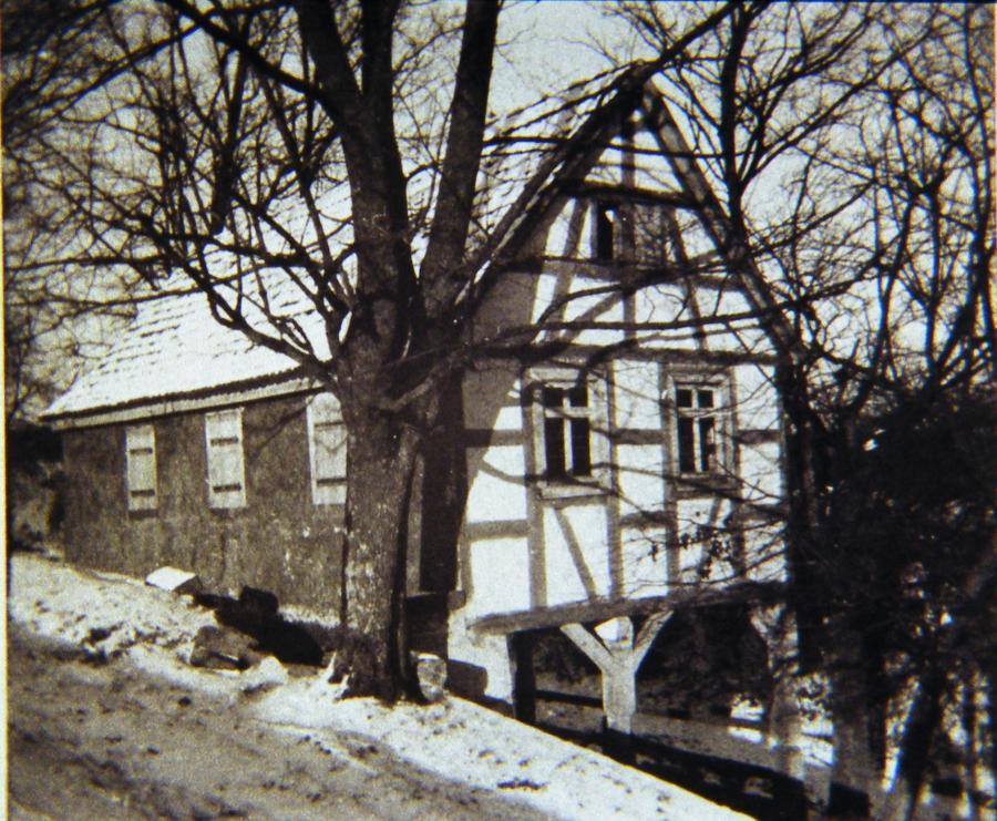 Kellerhäusla um 1930