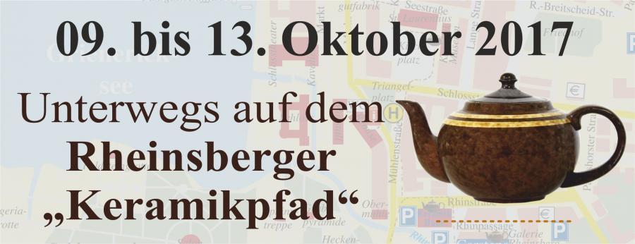 Keramikpfad Rheinsberg - Führungen zu den Internationalen Keramiktagen Rheinsberg