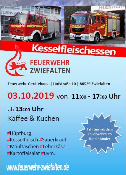 Kesselfleischessen 03.10.2019