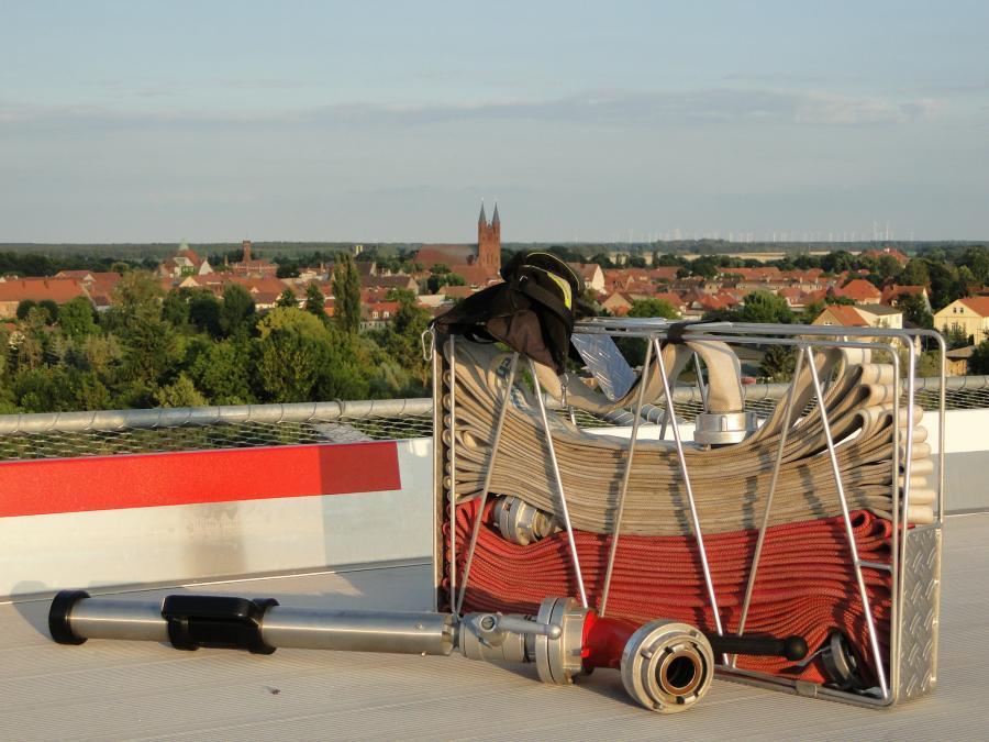 Über den Dächern von Kyritz