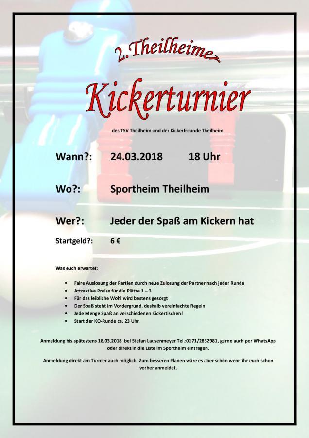 2.Kickerturnier