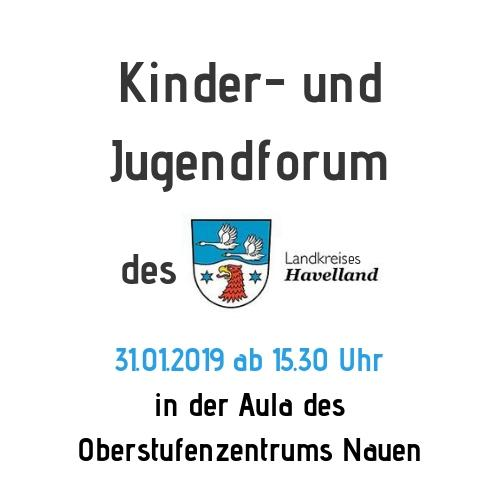 Aufruf_Kinder-/Jugendforum_LK HVL