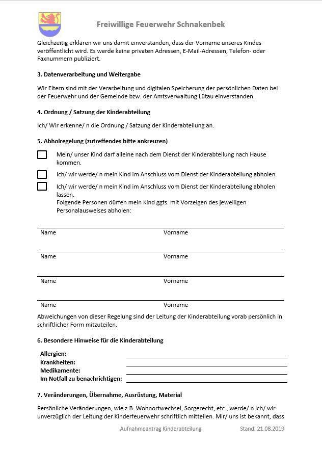 2019-08-20 Kinderabteilung Aufnahmeantrag 2