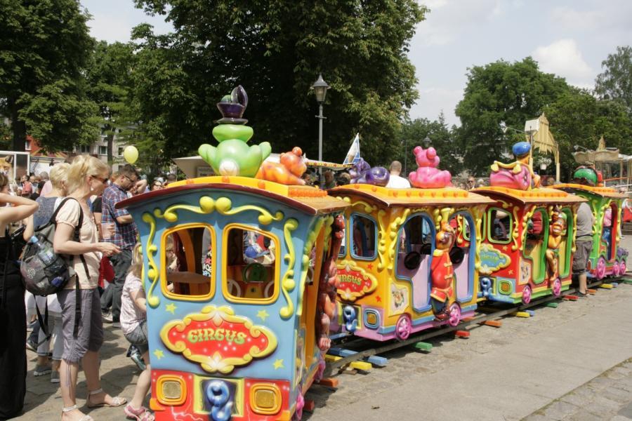 Kindereisenbahn Stadtfest 2016