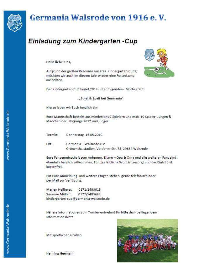 Kindergarten-Cup 2019