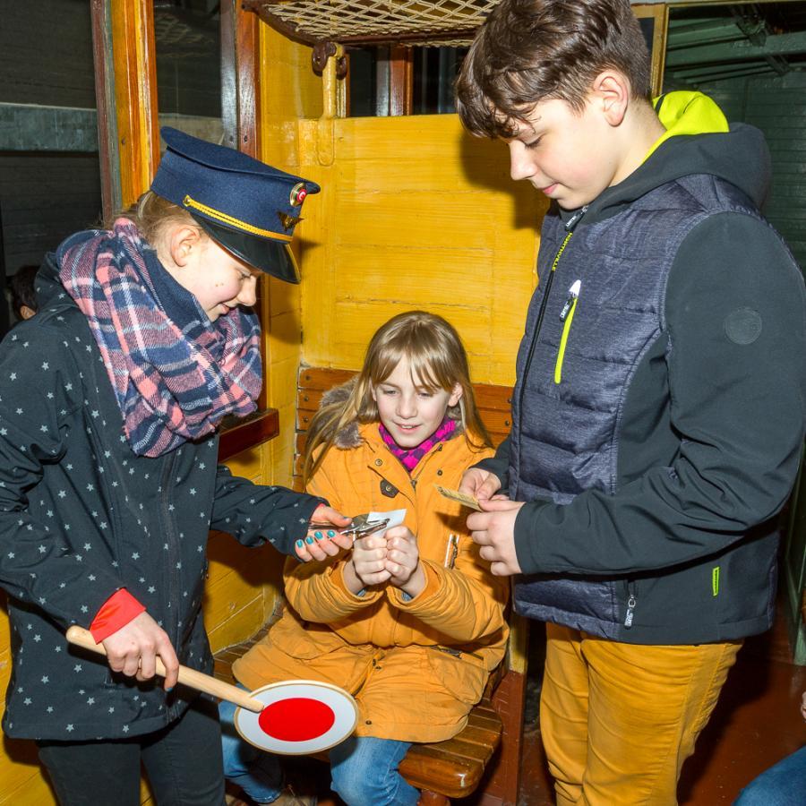 Kinderprogramm in der Spreewaldbahn Foto_ Peter Becker