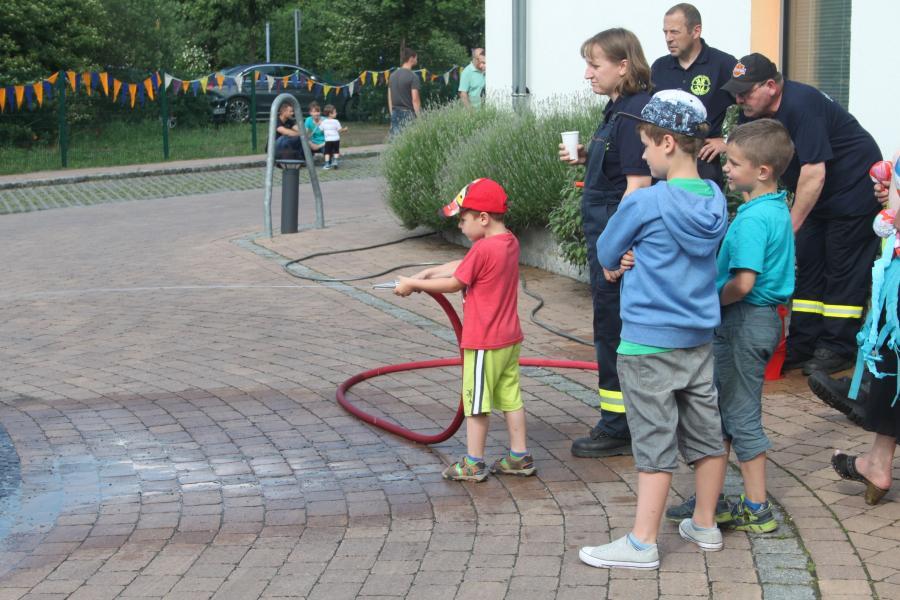 Kindertag 2016 Feuerwehr