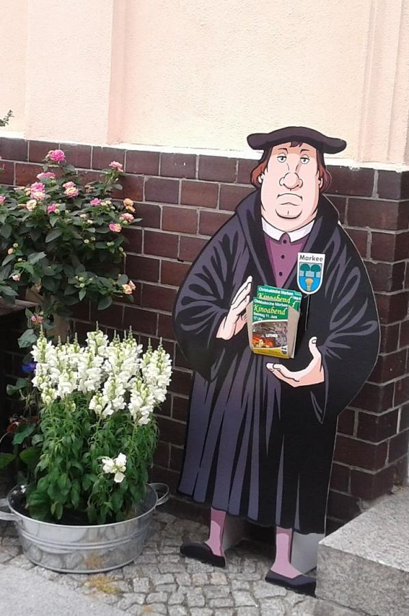Luther als Werbeträger