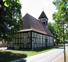 Kirche von hinten