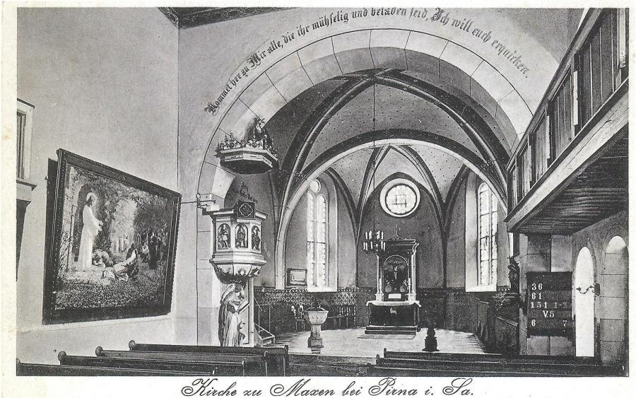 Kirche innen (1930er Jahre)
