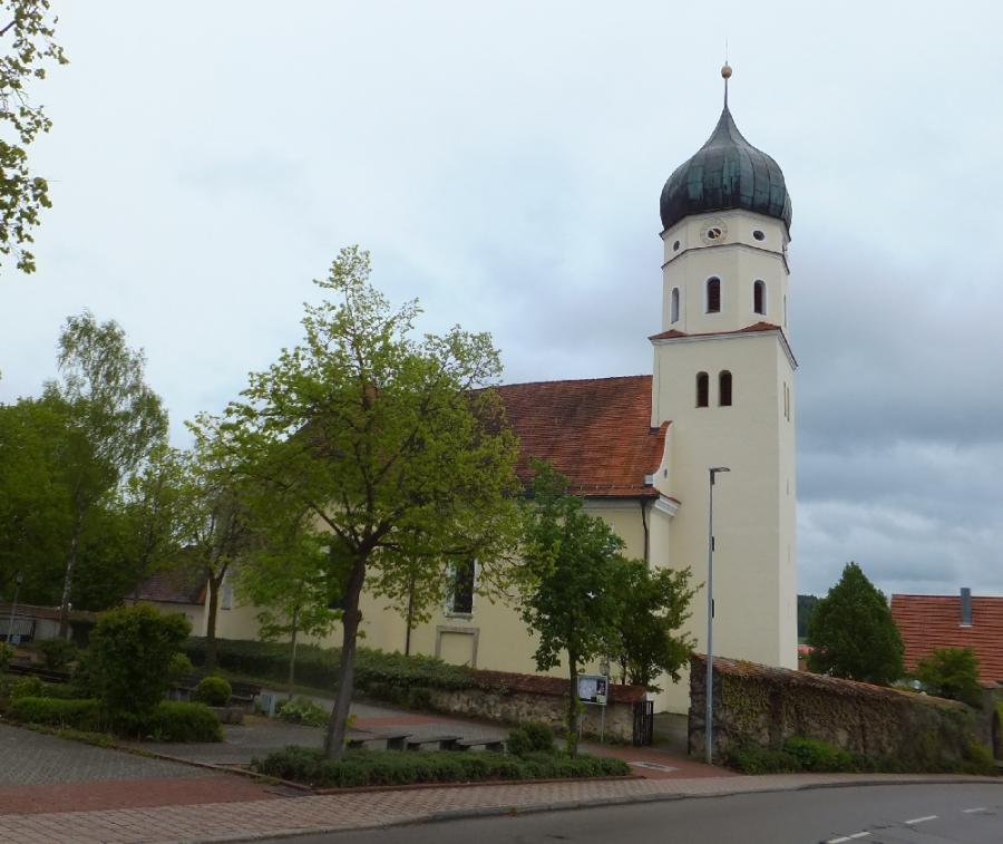Kath. Kirche St. Martin, Westerstetten
