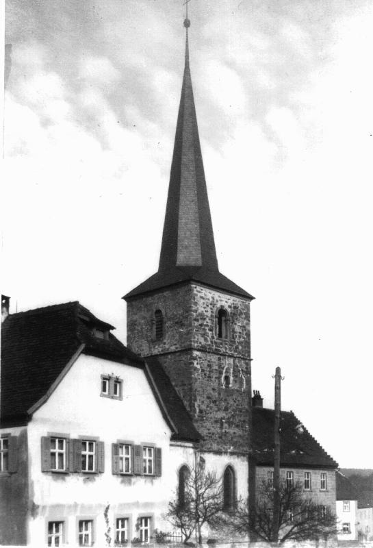 Kirche vor 1922