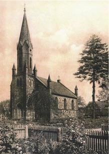 Persiuskirche um 1900
