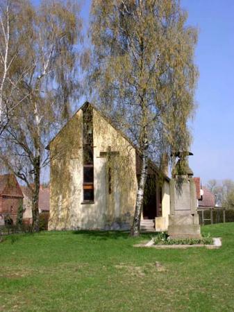 Kirche Bahnitz, Foto: Ganzer