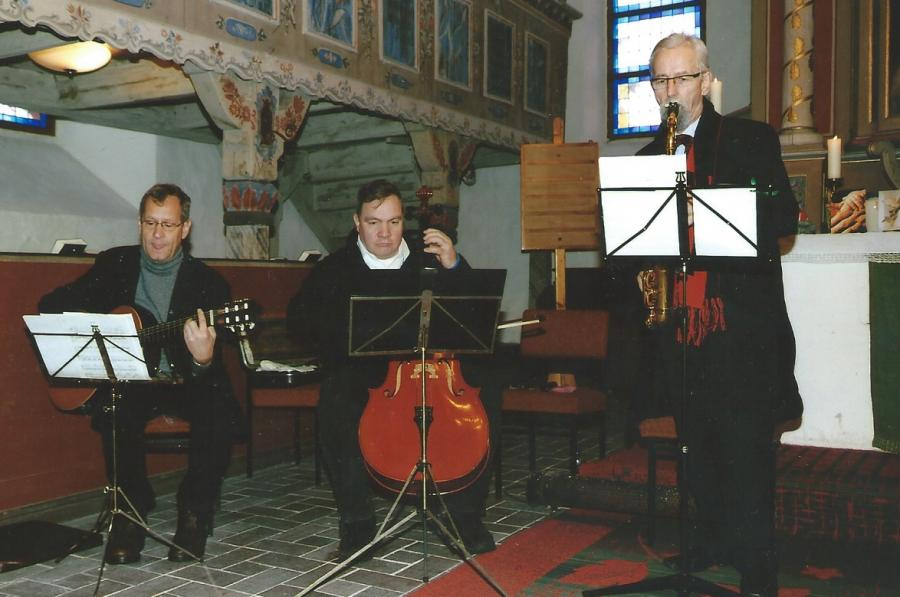 Taufe Kirche Bronkow